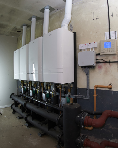 Ideal Commercial Evomax wall hung boilers bring energy efficiency to Adams' Grammar School
