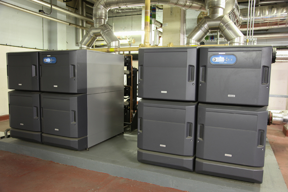 Ideal Commercial Evomax wall hung boilers bring energy efficiency to the University of London