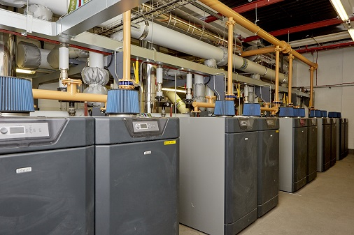 Ideal Commercial Imax Xtra EL boilers at Wren Kitchens